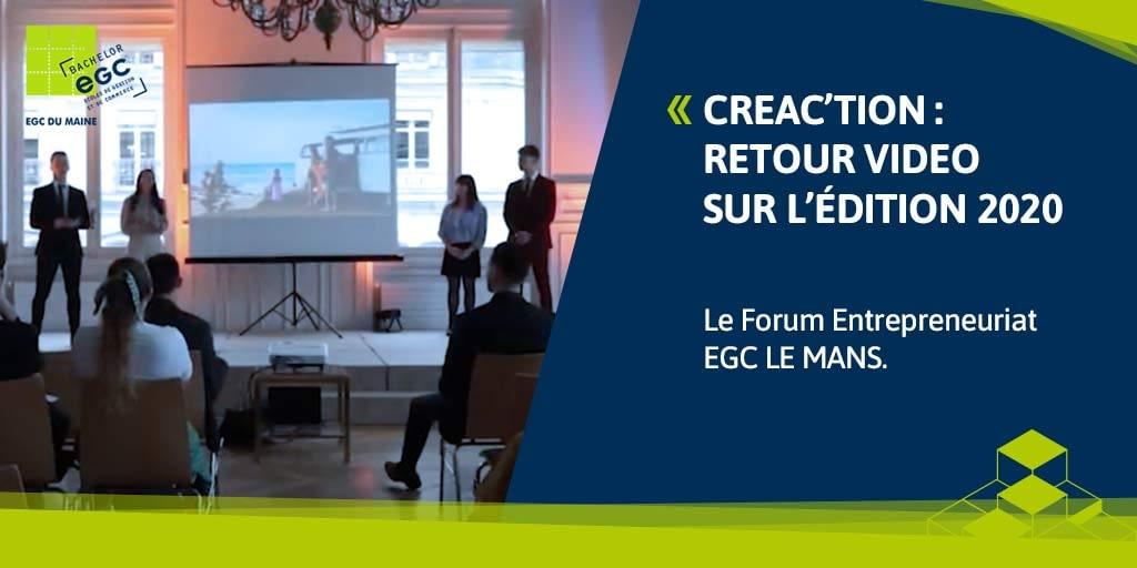 You are currently viewing EGC LE MANS : retour sur Créa'ction 2020