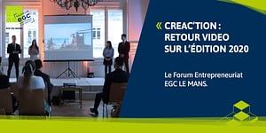 Read more about the article EGC LE MANS : retour sur Créa'ction 2020