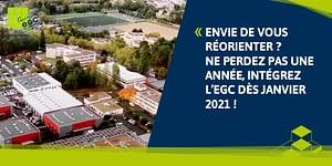 Read more about the article Envie de vous réorienter ? Ne perdez pas une année, intégrez l'EGC dès janvier 2021 !