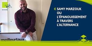 Read more about the article Samy Marzouk ou l'épanouissement à travers l'alternance