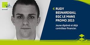 Read more about the article [Portrait d'ancien] Rudy BESNARDEAU, promo 2015