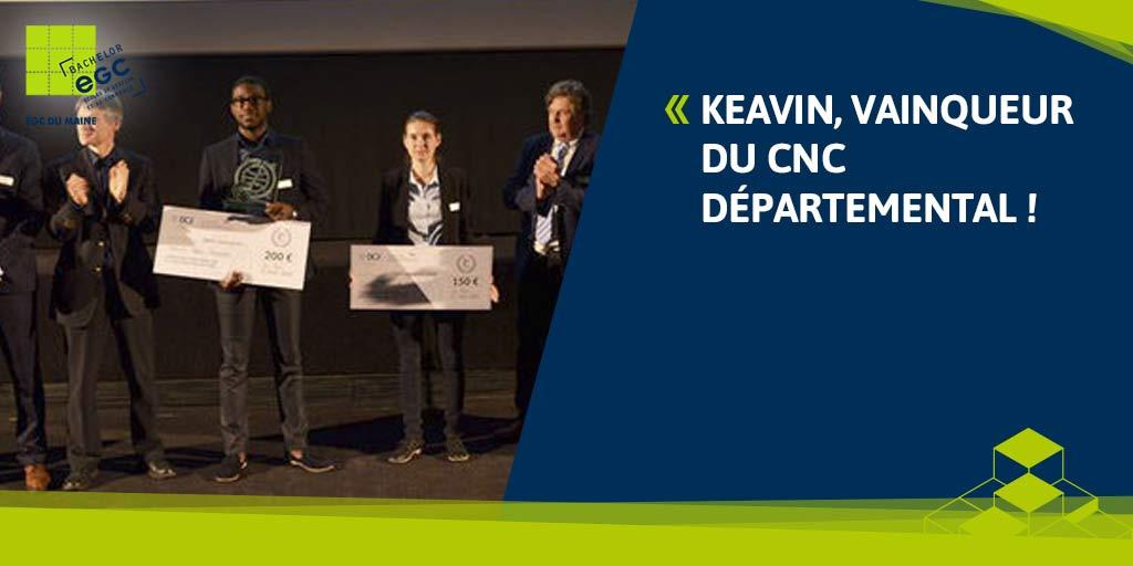 You are currently viewing Keavin, vainqueur du CNC départemental !