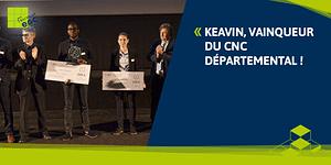 Read more about the article Keavin, vainqueur du CNC départemental !