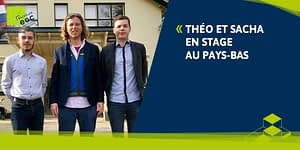 Read more about the article [INTERNATIONAL] Théo et Sacha aux Pays-Bas