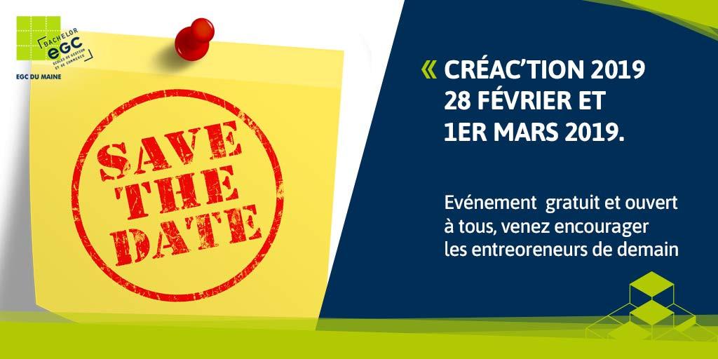 You are currently viewing [EVENEMENT] Inscrivez-vous dès maintenant à Créac'tion 2019