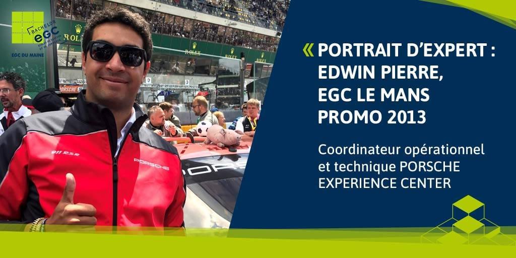 You are currently viewing [PORTRAIT D'EXPERT] Edwin Pierre: «Chez Porsche il y a toujours un nouveau défi à relever».