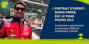 Read more about the article [PORTRAIT D'EXPERT] Edwin Pierre: «Chez Porsche il y a toujours un nouveau défi à relever».