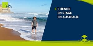 Read more about the article [INTERNATIONAL] Etienne en Australie