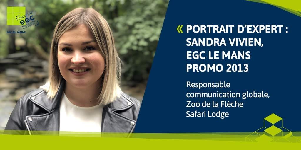 You are currently viewing [PORTRAIT D'EXPERT] Sandra Vivien, responsable de la communication du Zoo de La Flèche Safari Lodge – «Communiquer le bon message pour faire de nos visiteurs les ambassadeurs de la biodiversité».