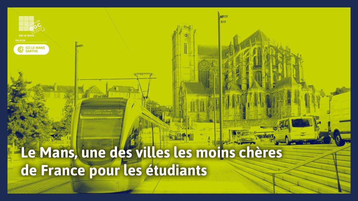 You are currently viewing Le Mans, une des villes les moins chères de France pour les étudiants
